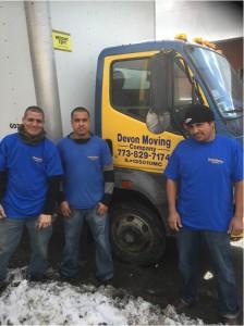 devon moving company